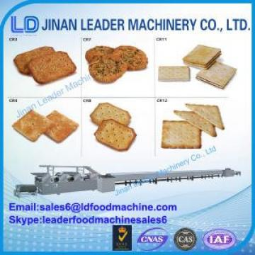 Stainless steel Biscuit processing line machine for making biscuit soft waffle cookies