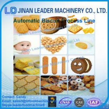 Commercial biscuit processing line soft waffle cookies production machine