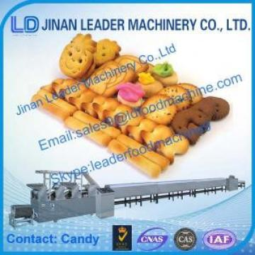 Industrial Biscuit processing line soft waffle cookies making machine