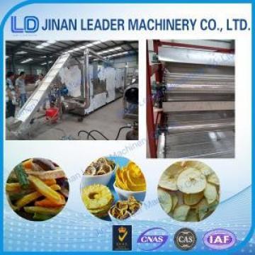 Stainless steel industrial conveyor belt oven processing machines