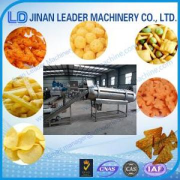 Stainless Steel Food Machinery Heating Continuous Fryer / Peanut Frying Machine Extruder