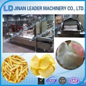 Easy operation snacks frying potato chips fryer processing machine