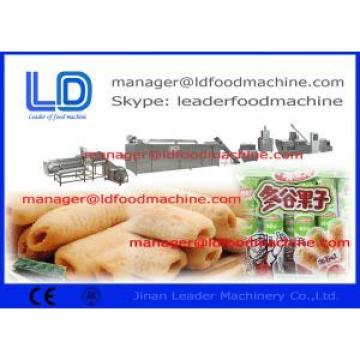 JInan Leader Core filled Snacks Making Machine inflating snacks machine