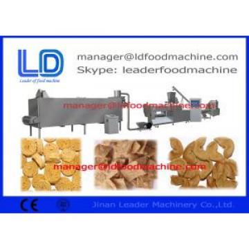 Snack Making Machine, 180kg / h Soybean Protein Food Making Machine