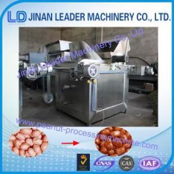 Food Grade Stainless Steel Peanut Processing Machine , Coal Heating Fryer Machine