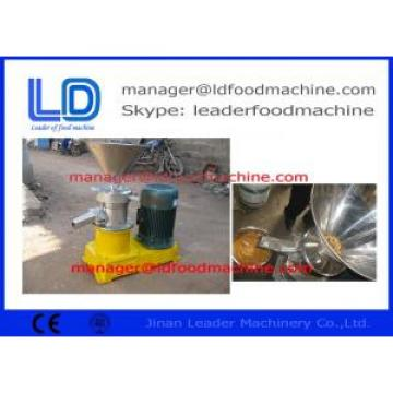 Famous Brand Food Grade Stainless Steel Peanut Butter Machine  For Wet Particle Processing