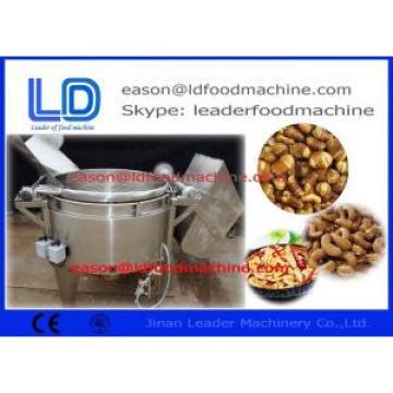 Automatic Peanut Frying Machine 300kg/H 0.75kw , Low Consumption