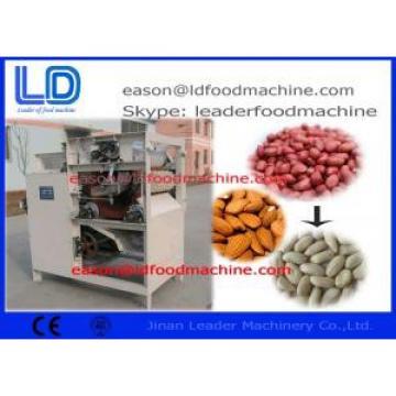 Stainless Steel Peanut Processing Machine , Wet Type Peanut Peeling Machine