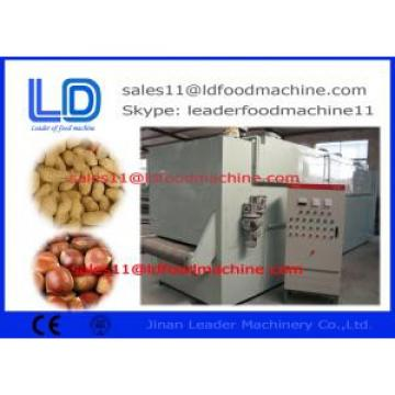 Electric Peanuts Roasting Machine Automatic Stainless Steel Continuous