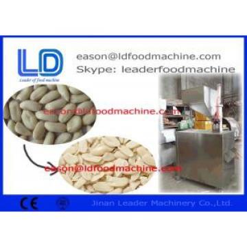 Stainless Steel Peanut Processing Machine , 300kg/h Peanut Slicer Machine