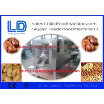 Convenient Peanut Butter Production Line , DHL Electric Heating Peanut Roasting Machine