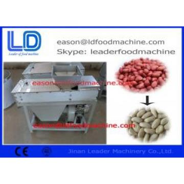 Stainless Steel Peanut Processing Machine , 200kg/H Dry Type Peanut Peeling Machine
