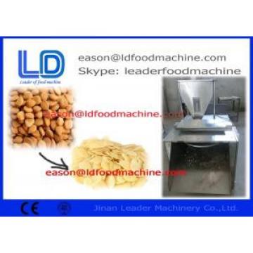 Stainless Steel Walnuts Almond Slicer Machine , 380V Peanut Processing Machine