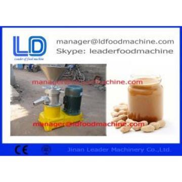 Compact Peanut Processing Machine For Making Garlic Chili Peanut Butter