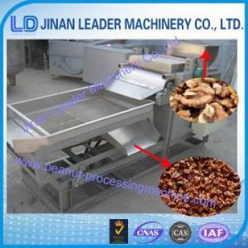 High Efficiency Peanut Processing Machine , Peanut Crusher Machine For Nuts