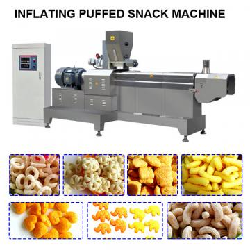 Fried snack extruder machine chips making machine