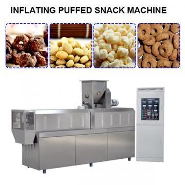 Fried snack extruder machine chips making machine