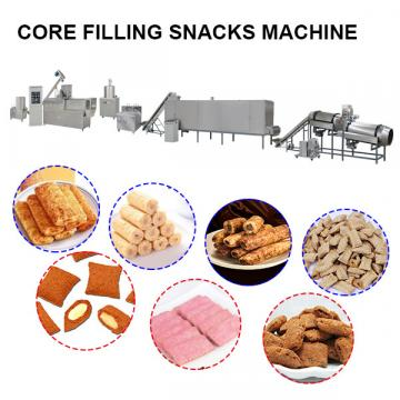 Core filled snack making machine  corn stick production line