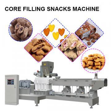 Core filled snack making machine  corn stick production line